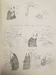 Gaster doodles by synnibear03