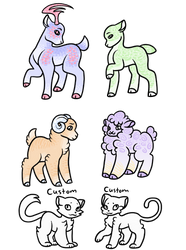 AUCTION: Collab adopts! by synnibear03