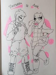 Tatyana and Anya by synnibear03