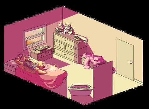 Scootaloo's room
