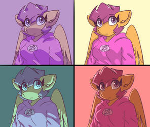 Comic shading style by synnibear03