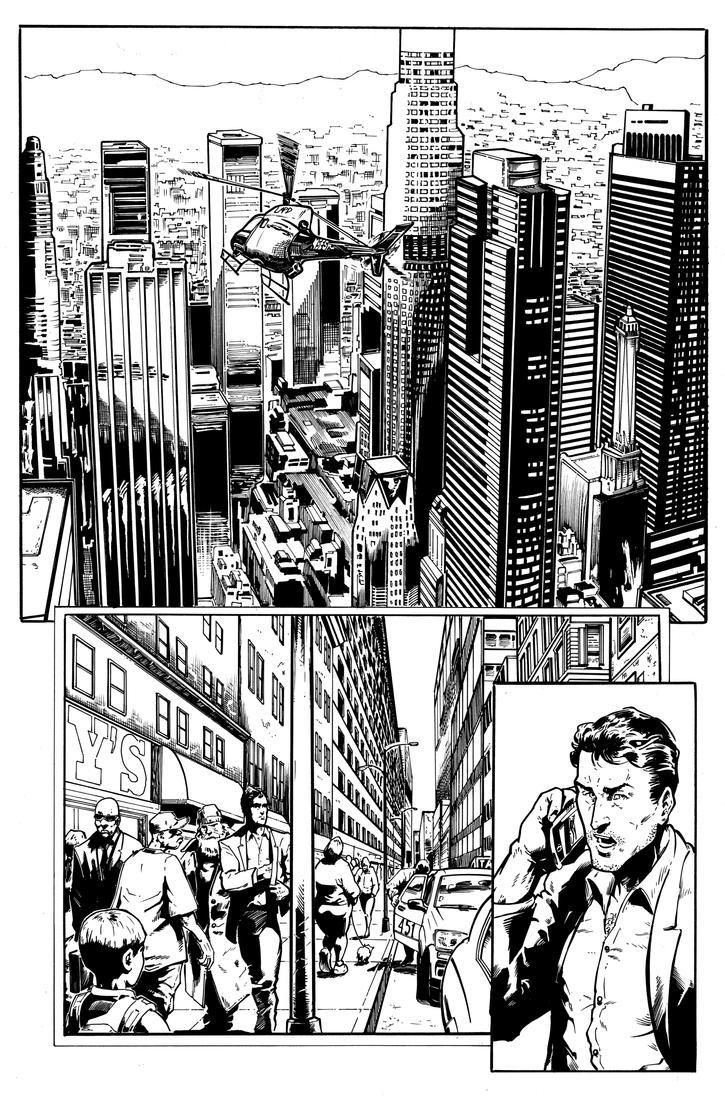 Vigilance 01 page 01 - inks by sequentialinzunza