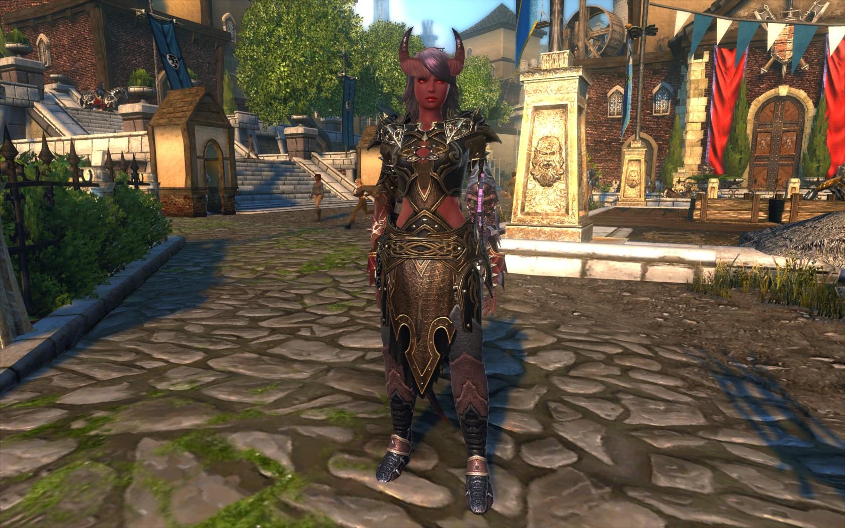 My Warlock in Neverwinter by Silverspar on DeviantArt