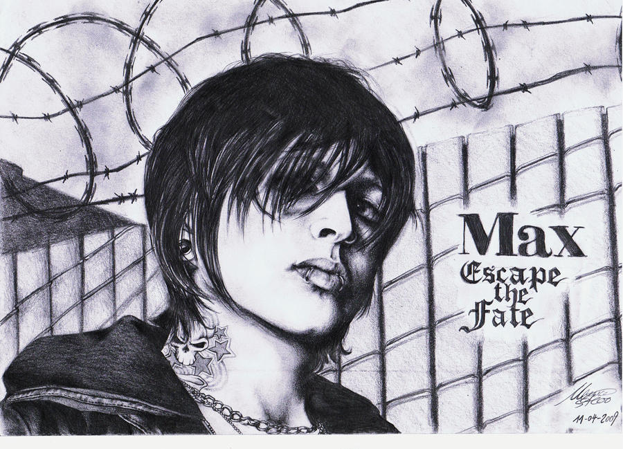 Max Green - Escape The Fate by maga-a7x