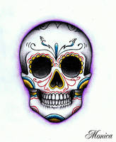 Mexican Skull by maga-a7x