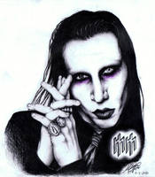 Marilyn Manson by maga-a7x