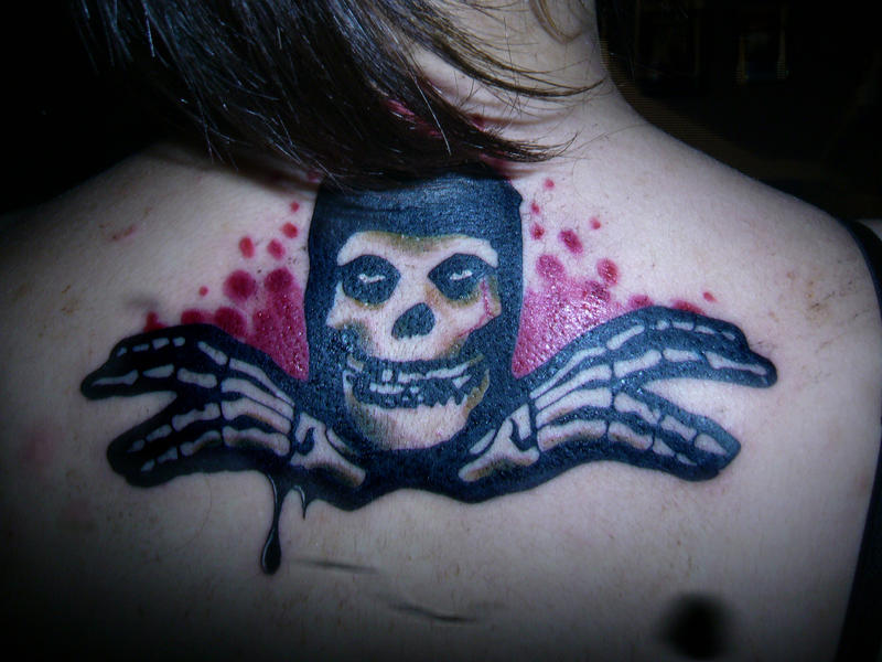 My Misfits tattoo by ~maga-a7x on deviantART