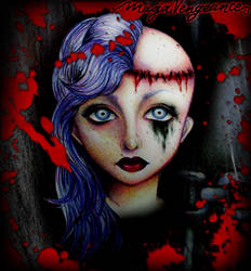 Helpless Girl. by maga-a7x