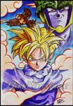 Dragon Ball Z - Gohan and Cell