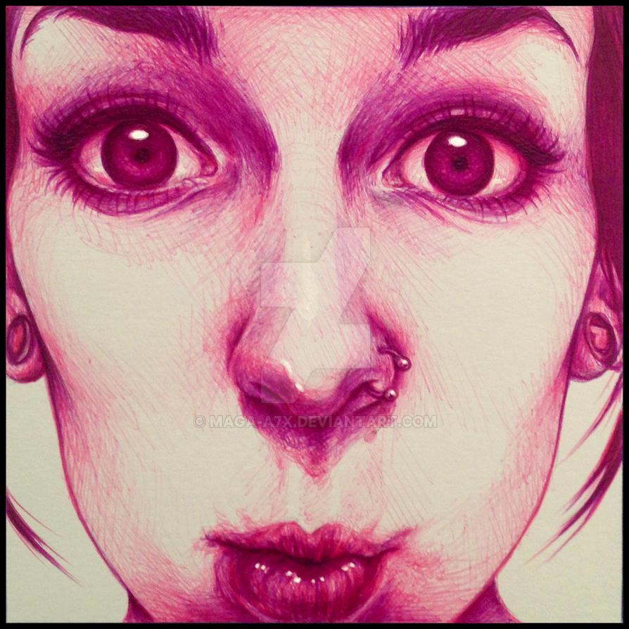 Self-portrait 1 by maga-a7x