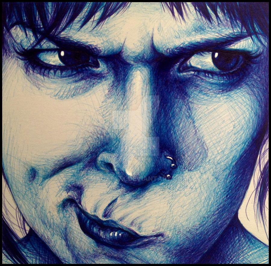 Self-portrait 2 by maga-a7x