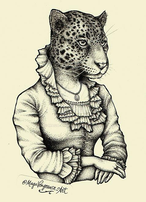 Madame Leopard by maga-a7x