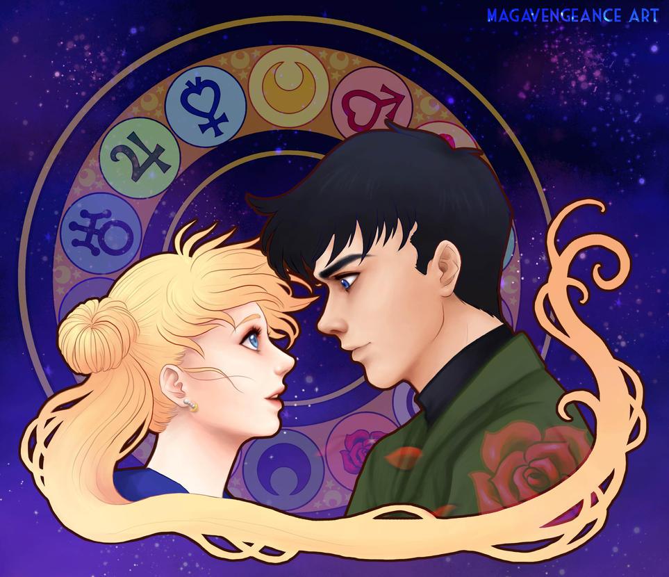 Sailor Moon by maga-a7x