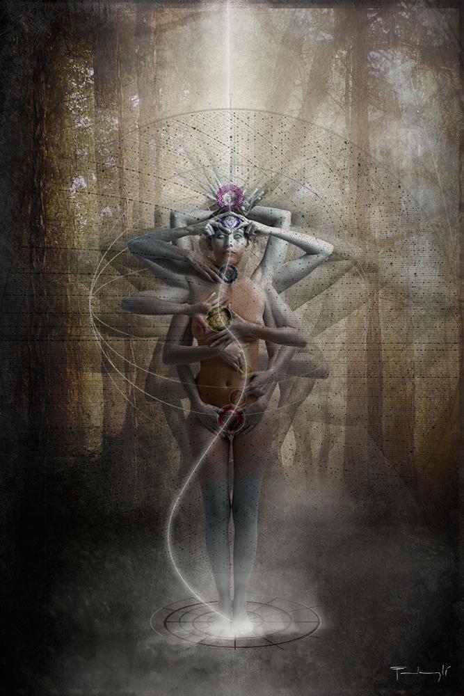 This is an amazing piece of work-皮埃尔 Pierre Fudaryli  创意人体摄影欣赏 - 冬日暖陽 - 缘来如此心动