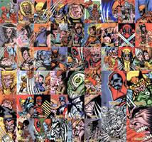 X-Men Origins: Wolverine Cards by stalk