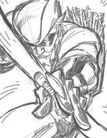 DSC GREEN ARROW by stalk