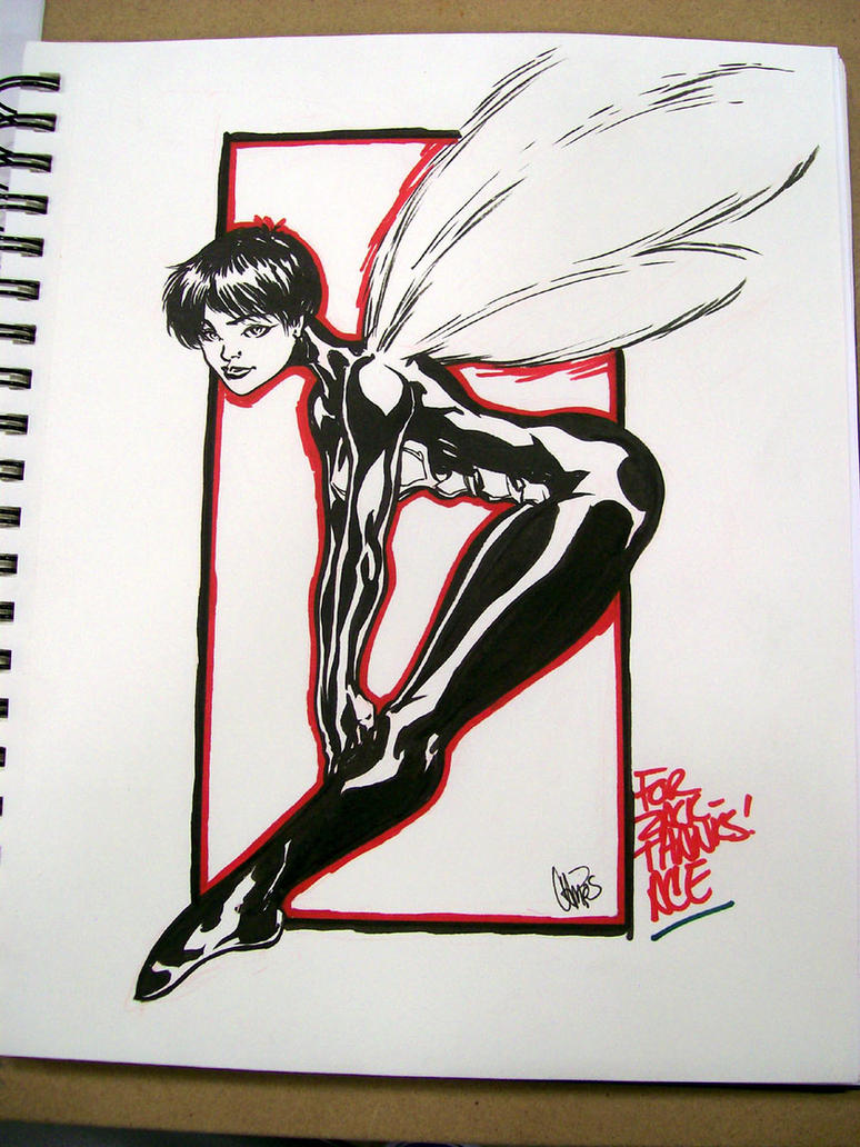 JANET VAN DYNE by stalk