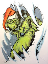THE GRINCH by stalk