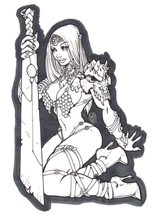 Beth the Barbarian by stalk