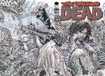 WALKING DEAD #100 SKETCH COVER