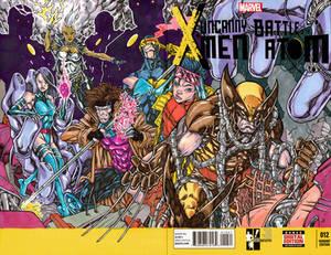 UNCANNY X-MEN HERO INITIATIVE SKETCH COVER