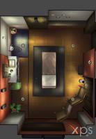 Massage room by syasuker
