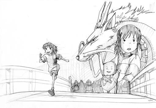 Spirited Away Chihiro By Saiwaiip On Deviantart Spirited Away Coloring Pages