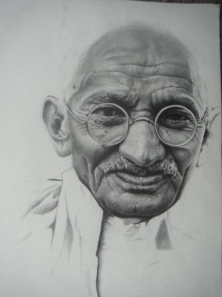 Gandhi by natobat