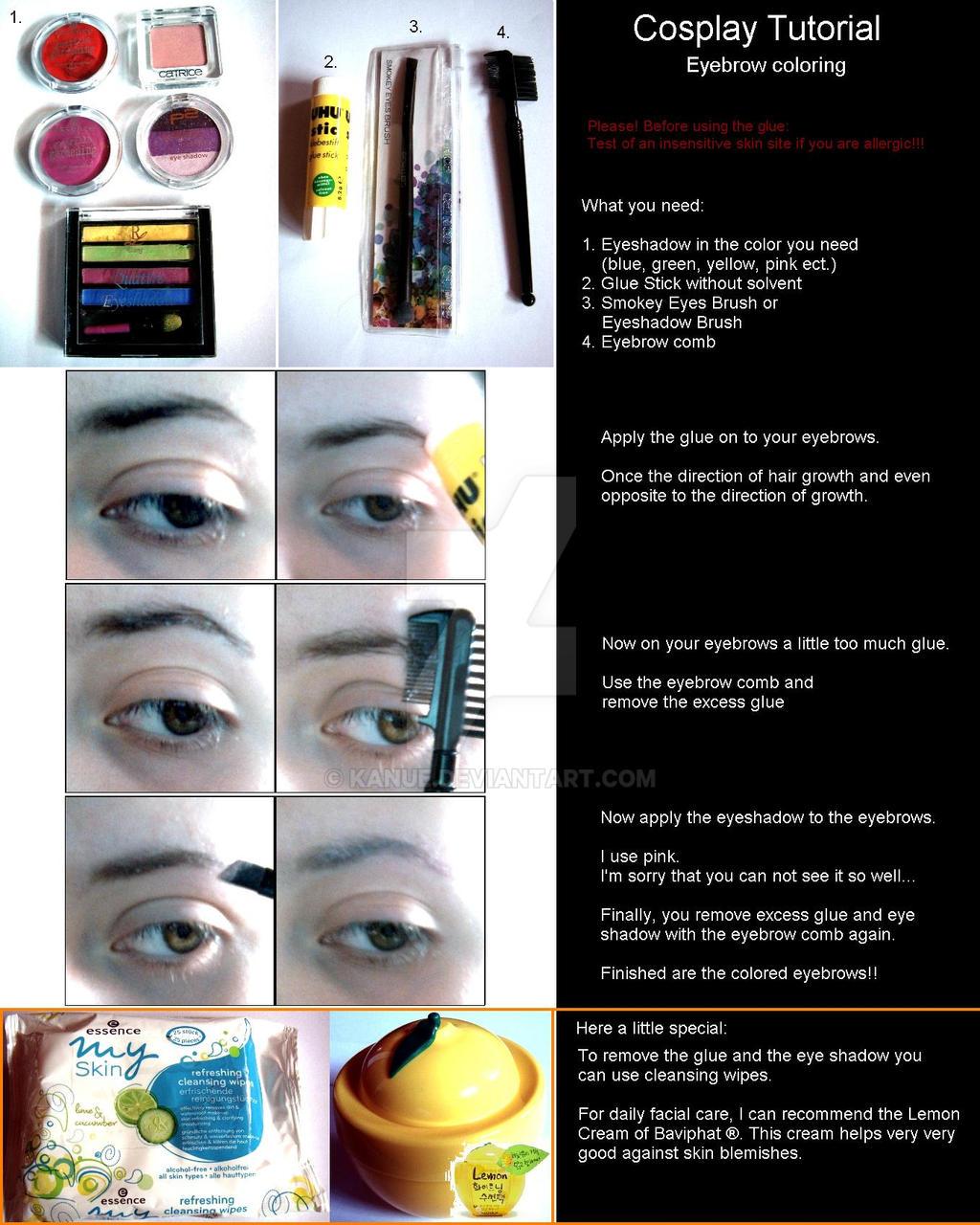 Tutorial - Eyebrow Coloring by Kanue