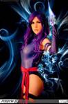 Psylocke by Ferpsf