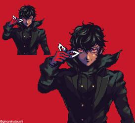 Joker (Persona5) by ginoya