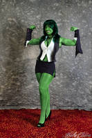 She-Hulk: It's Not Easy Being Green by BelleChere