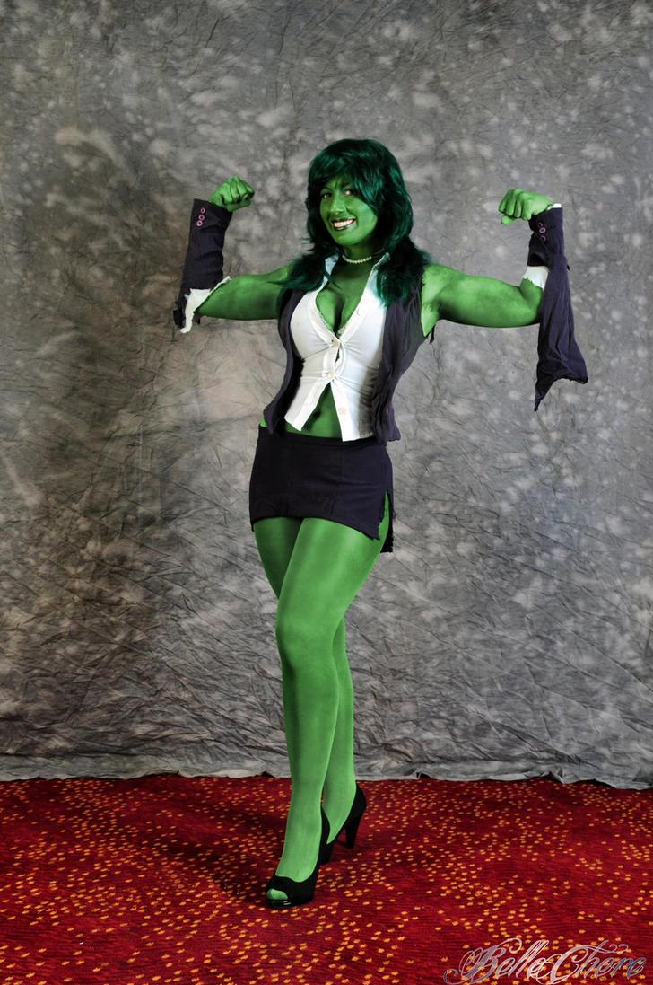 She-Hulk: It's Not Easy Being Green by BelleChere