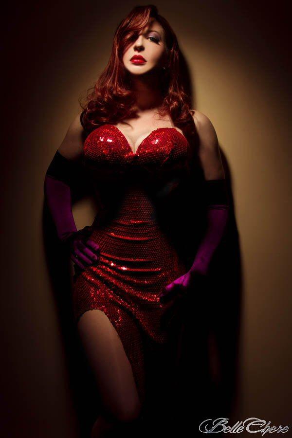 Jessica Rabbit: The Spotlight by BelleChere