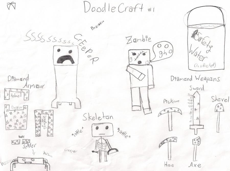 DoodleCraft #1 by EmySocko