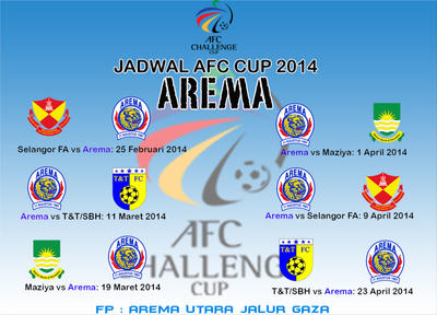JADWAL AFC CUP 2014 by begundalongisnade