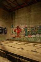 Graffiti Wall by DruidWuStock