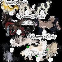 [OPEN] 5/9 Canine Batch Adopts by verminharlot