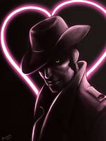 Nick Valentine's day by UnderNeonLights