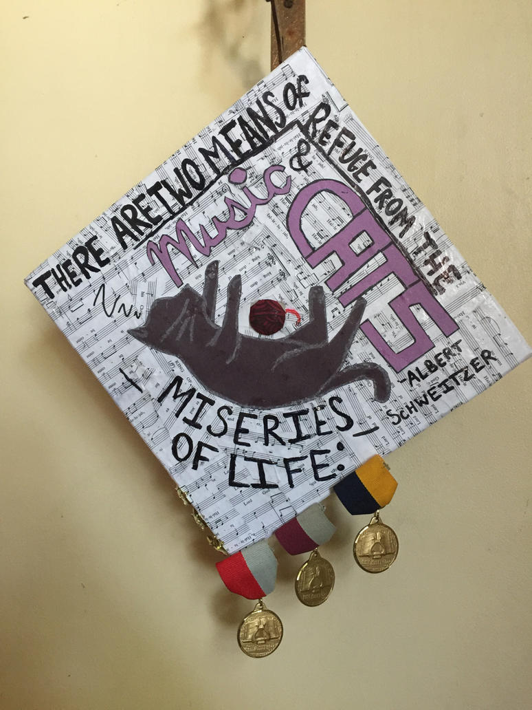 HS Graduation Cap 2018 by KatrinaIceheart