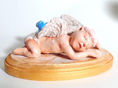 Angel Baby sculpture
