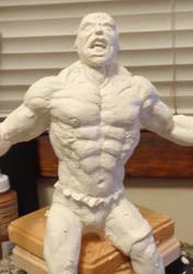 The Hulk Custom sculpt