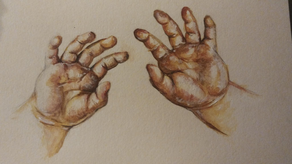 These are my hands by queenelf