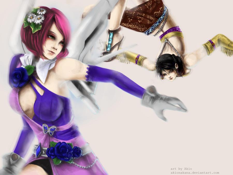 Let's fight by AkioNakana