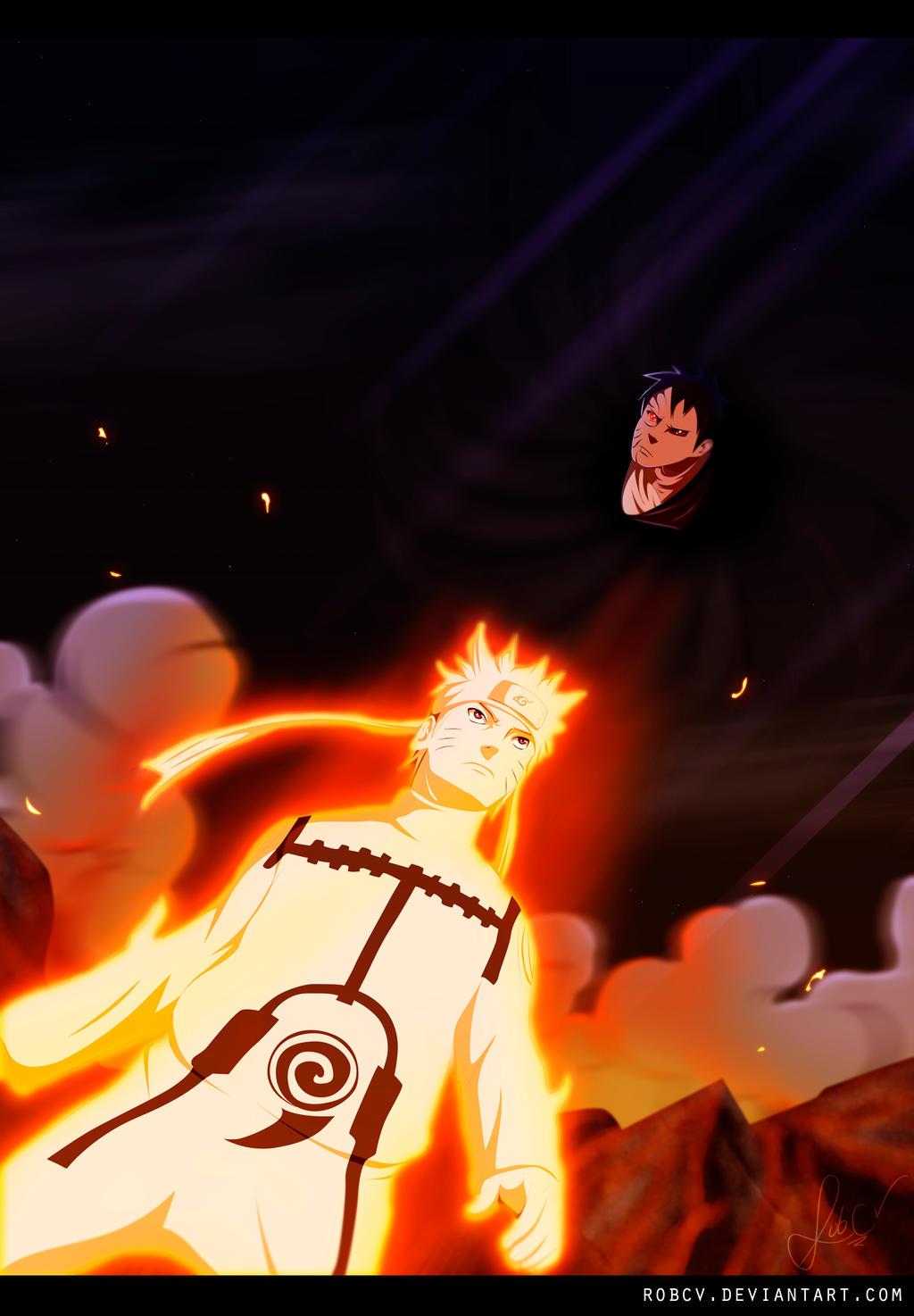 Naruto 628: Buu! by RobCV