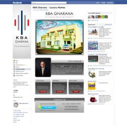 Website Like Facebook Landing Tab Design by ujala