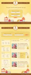 Bakery Website Design by ujala