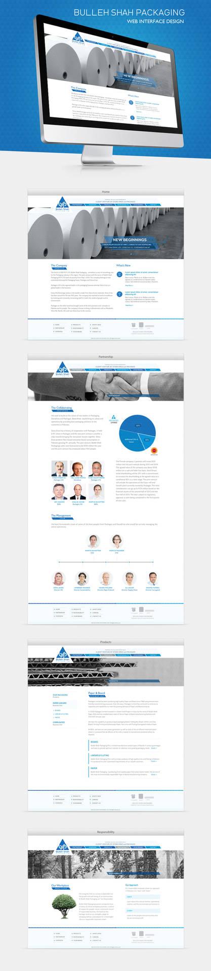 Bulleh Shah Packaging Web Design by ujala