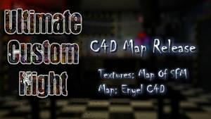 (C4D/FNaF) UCN C4D Map Release by Enyel C4D by Enyel14Art
