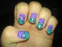 my nail art by DeryaJuelide